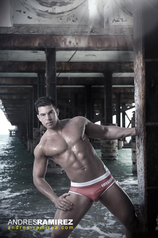 Sexy Samuel Aguiar in NIT swimwear