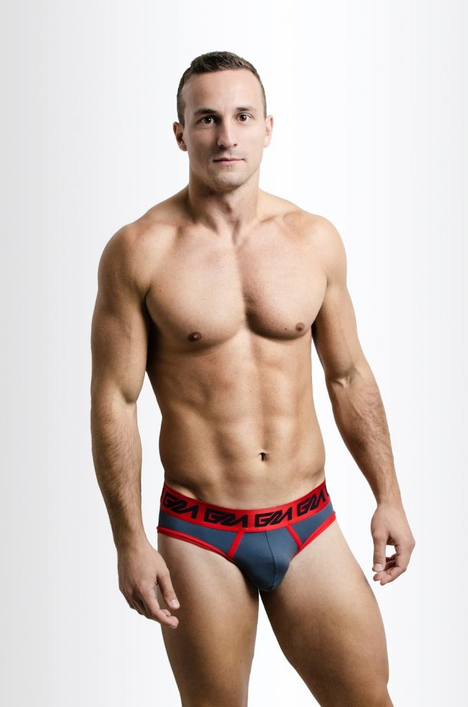 Garcon Model underwear - Red Briefs