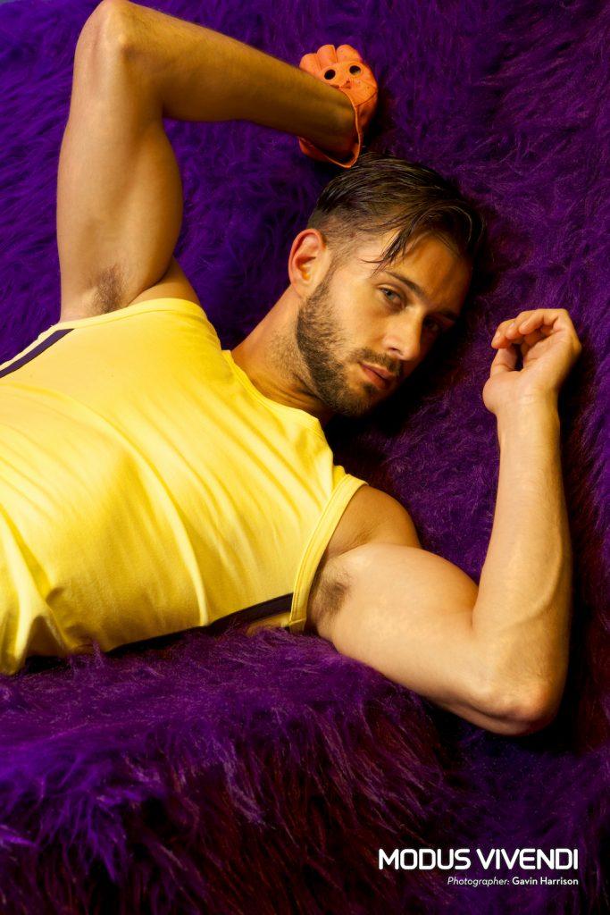 Modus Vivendi underwear - Pride Line - Gavin Harrison - Adam Phillips