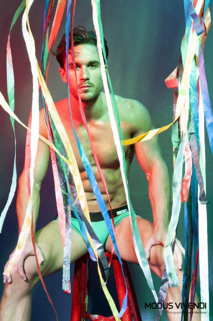 Modus Vivendi underwear - Pride Line - Gavin Harrison - Alex Cannon