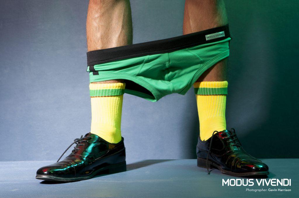 Modus Vivendi underwear - Pride Line - Gavin Harrison