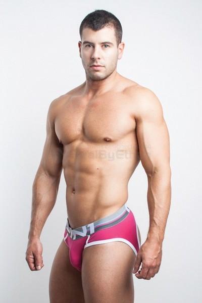 Fit-in1 underwear - Color Club Air jock brief