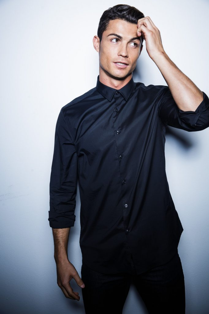 Cristiano Ronaldo  - campaign for the launch of CR7 Shirts