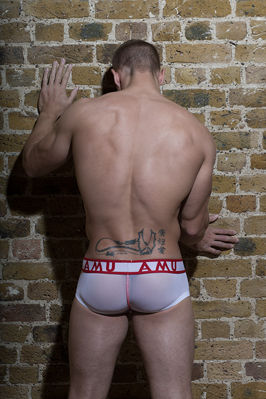 Sexy Stefan Kauffman by Steve France for AMU underwear