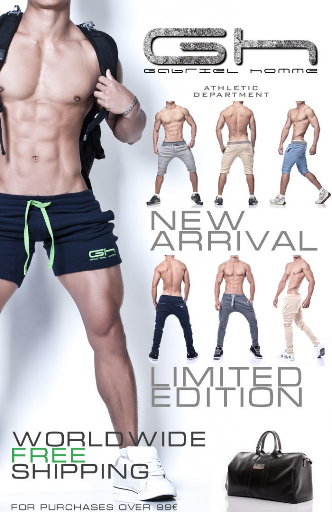 Gabriel Homme mens athletic wear