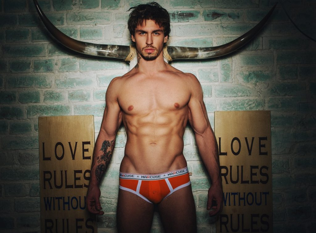 Marcuse swimwear - Fall 2014 campaign by Serge Lee