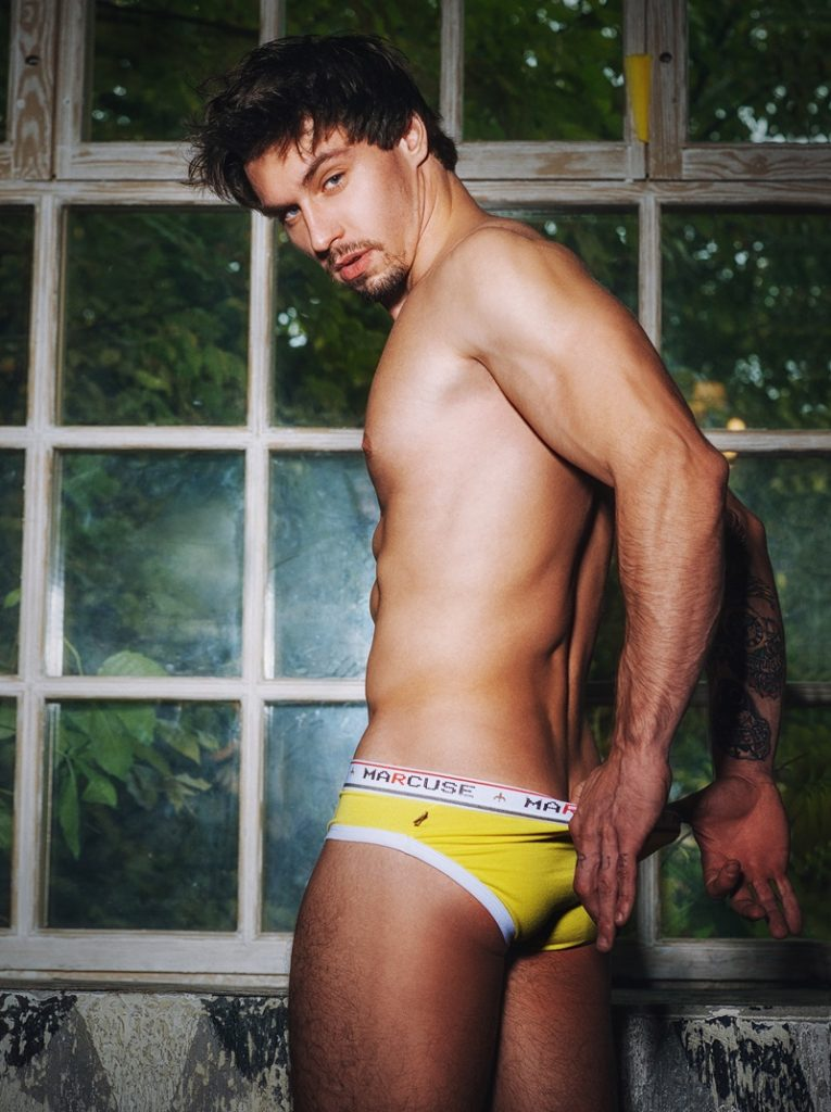 Marcuse underwear - Fall 2014 campaign by Serge Lee