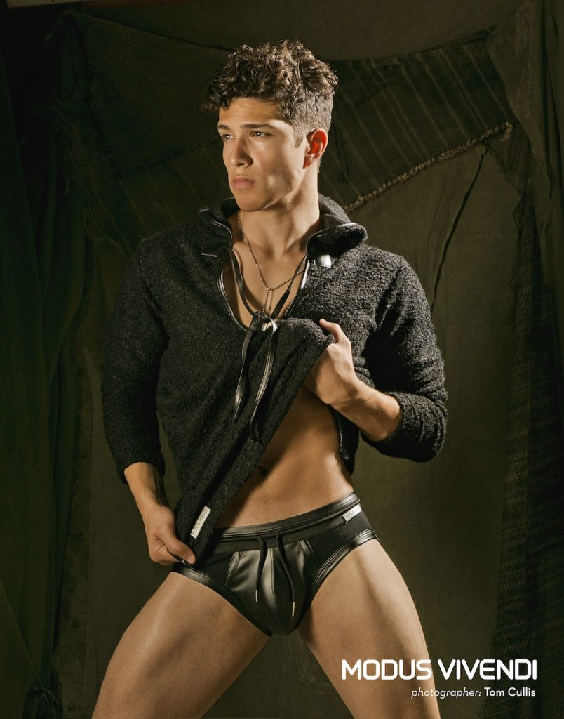 Xavier Gutierrez by Tom Cullis for Modus Vivendi Military line