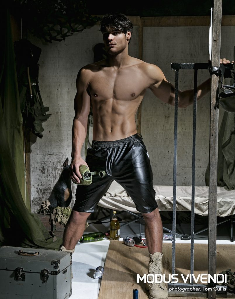 Matt LeMond by Tom Cullis for Modus Vivendi Military Line campaign