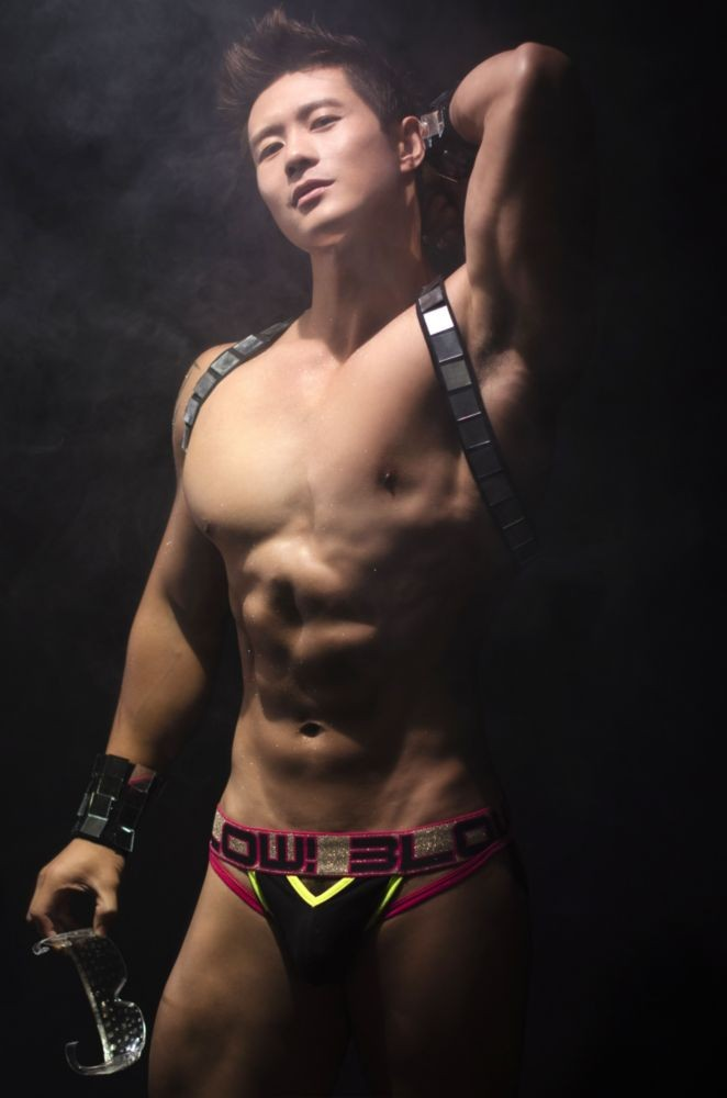 Andrew Christian video still - BLOW! NYE