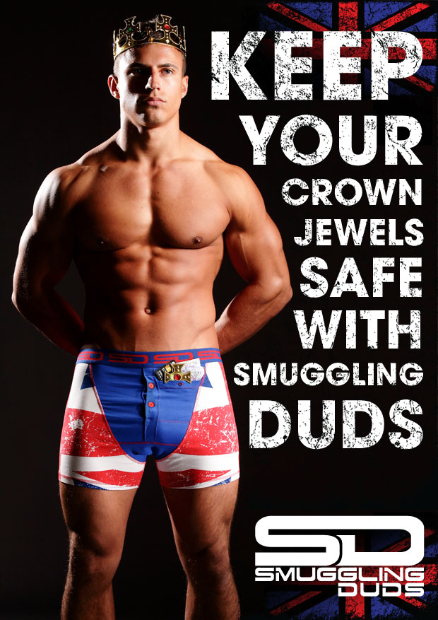 Smuggling Duds underwear - International range