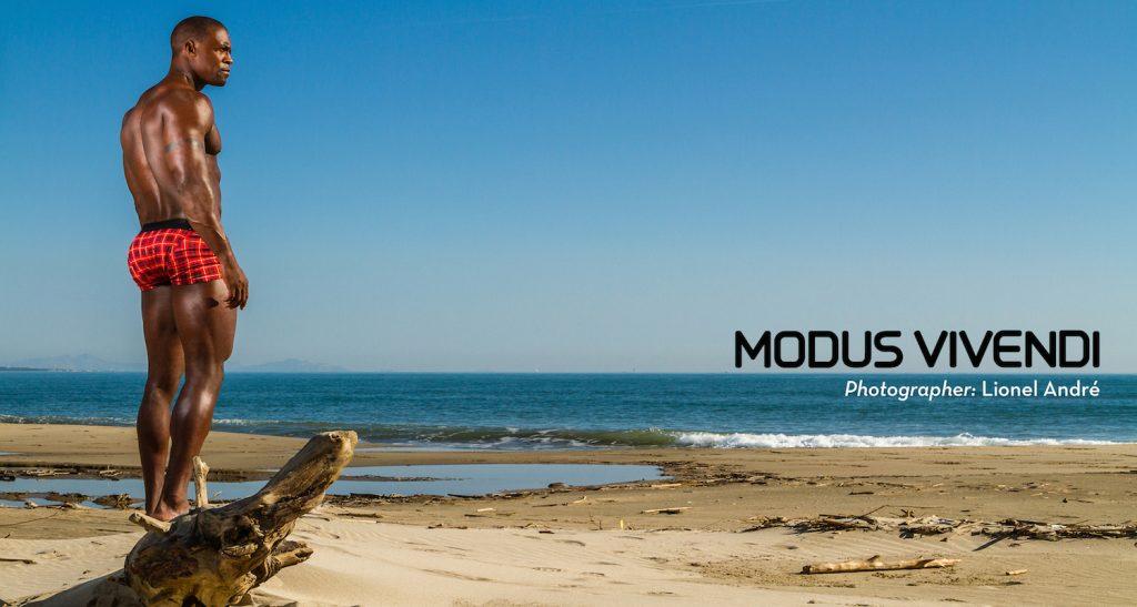 Modus Vivendi underwear - new campaign Masai Line - photographer Lionel Andre
