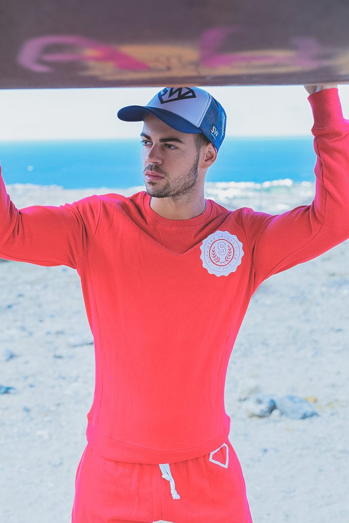 Cristian Romero in sportswear by Supawear