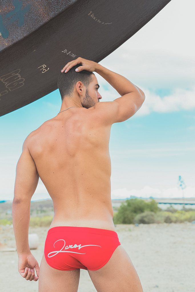 Cristian Romero in swimwear by 2EROS