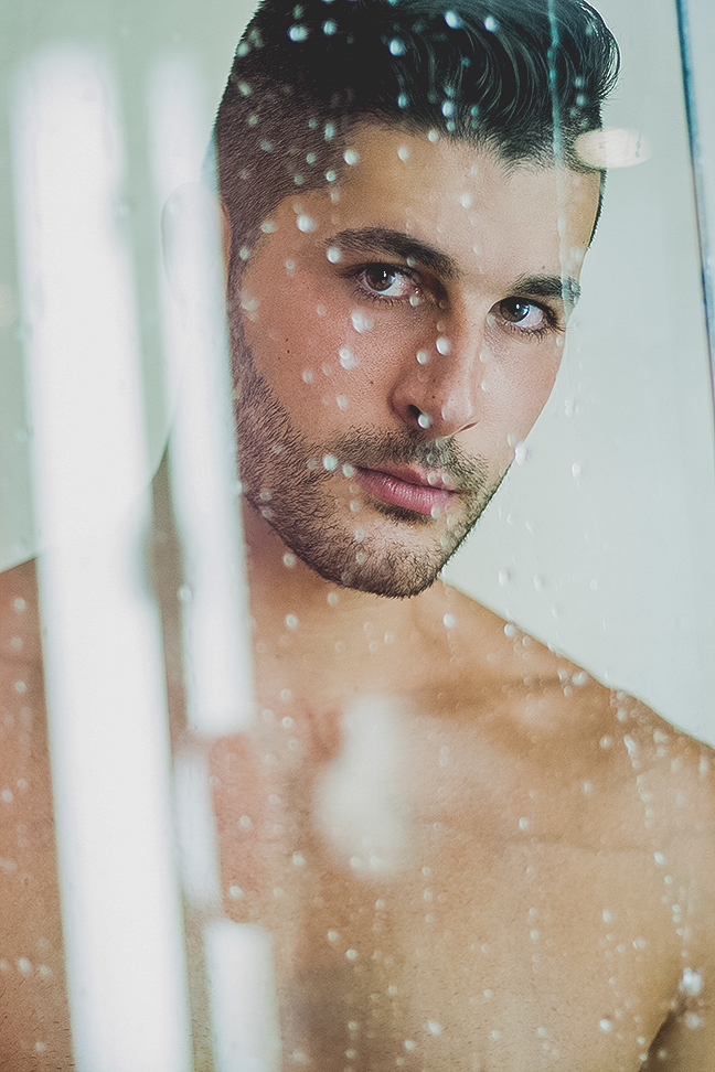 Javier Cabrera photographed by Adrian C. Martin