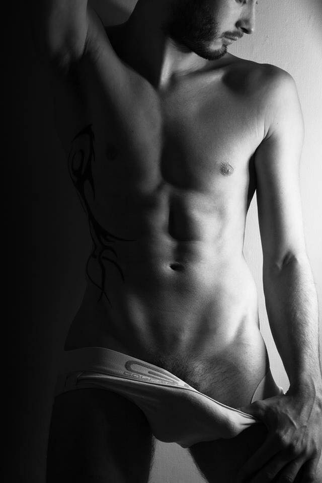 French model and photographer Nicolas Fardel