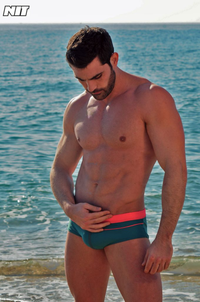 Guillermo Angulo for NIT swimwear