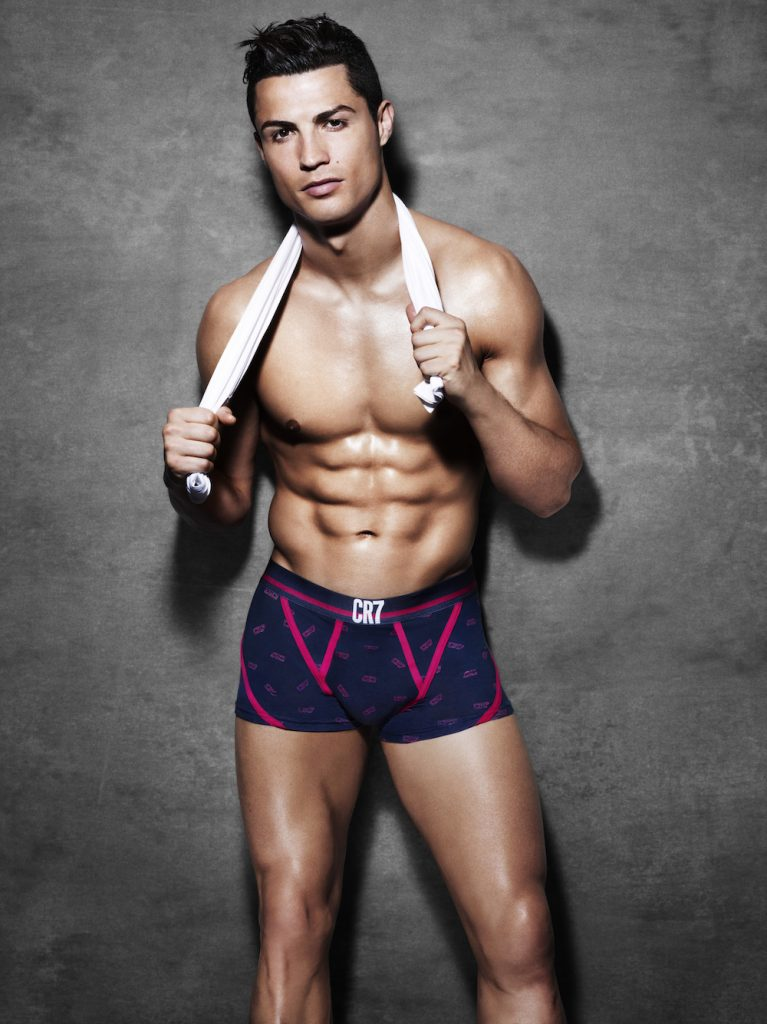 CR7 underwear by Cristiano Ronaldo Spring/Summer 2015 collection