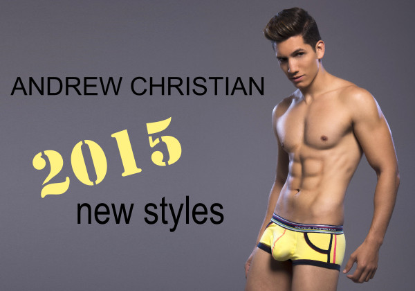 Andrew Christian underwear at Vocla