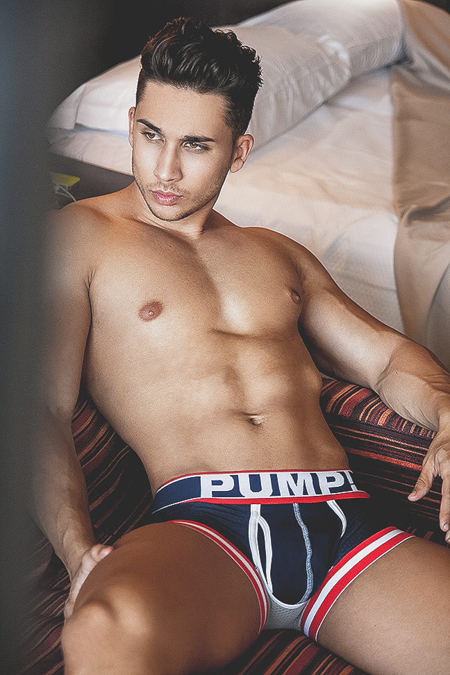 Ruben Santana by Adrian C. Martin for PUMP! underwear