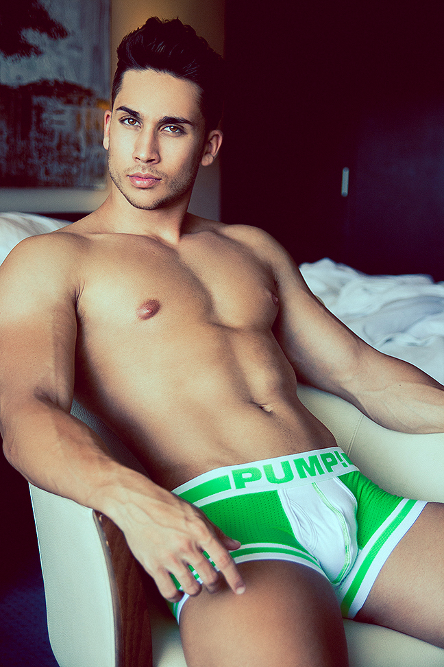 Ruben Santana by Adrian C. Martin for PUMP! underwear