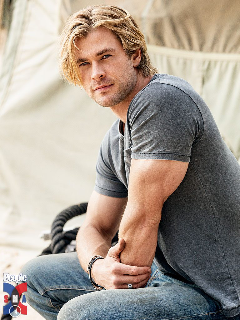 1st Annual Men and Underwear Awards - Most sexy man in 2014 - Chris Hemsworth