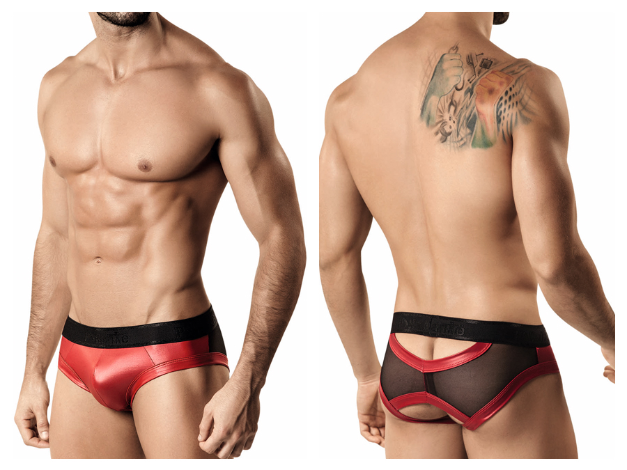 Pikante underwear - Superhero brief red