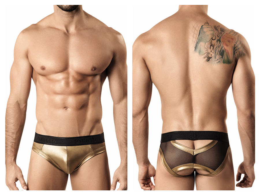 Pikante underwear - Superhero brief gold