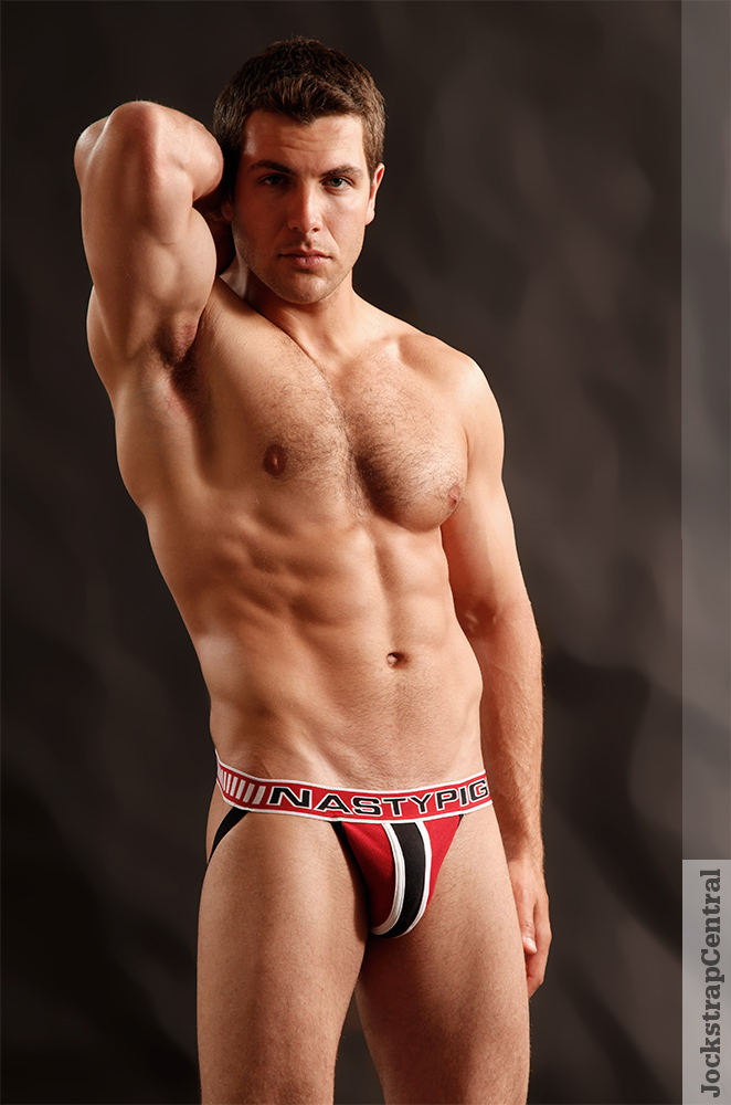 Kevin in Nasty Pig Knockout Jocks for Jockstrap Central