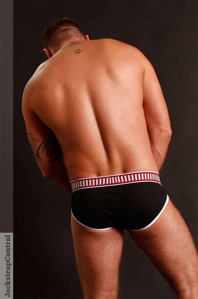 Zack Acland in Nasty Pig Knockout Briefs for Jockstrap Central