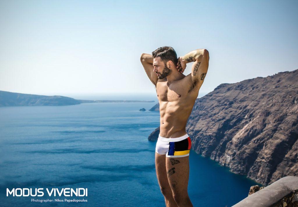 Modus Vivendi swimwear - Mondrian Line