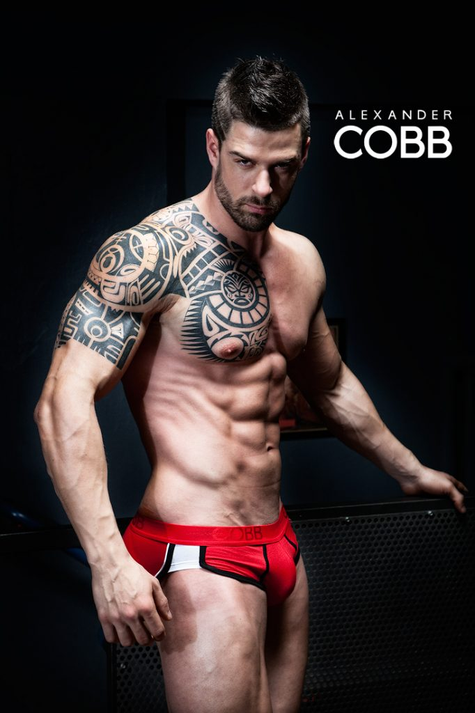Alexander COBB underwear - red love