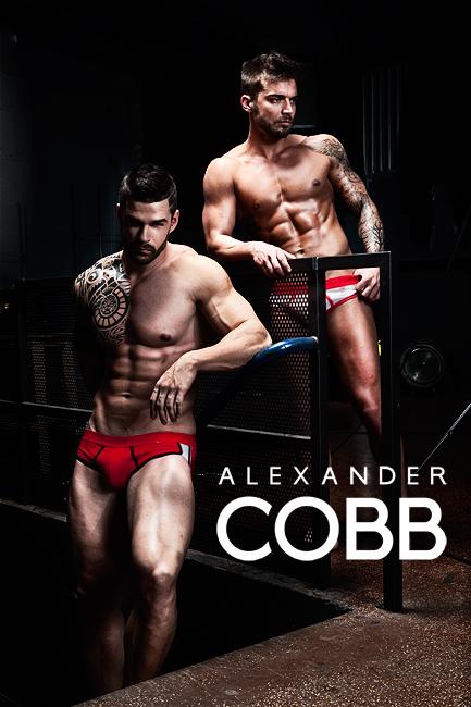 Alexander COBB underwear - red love