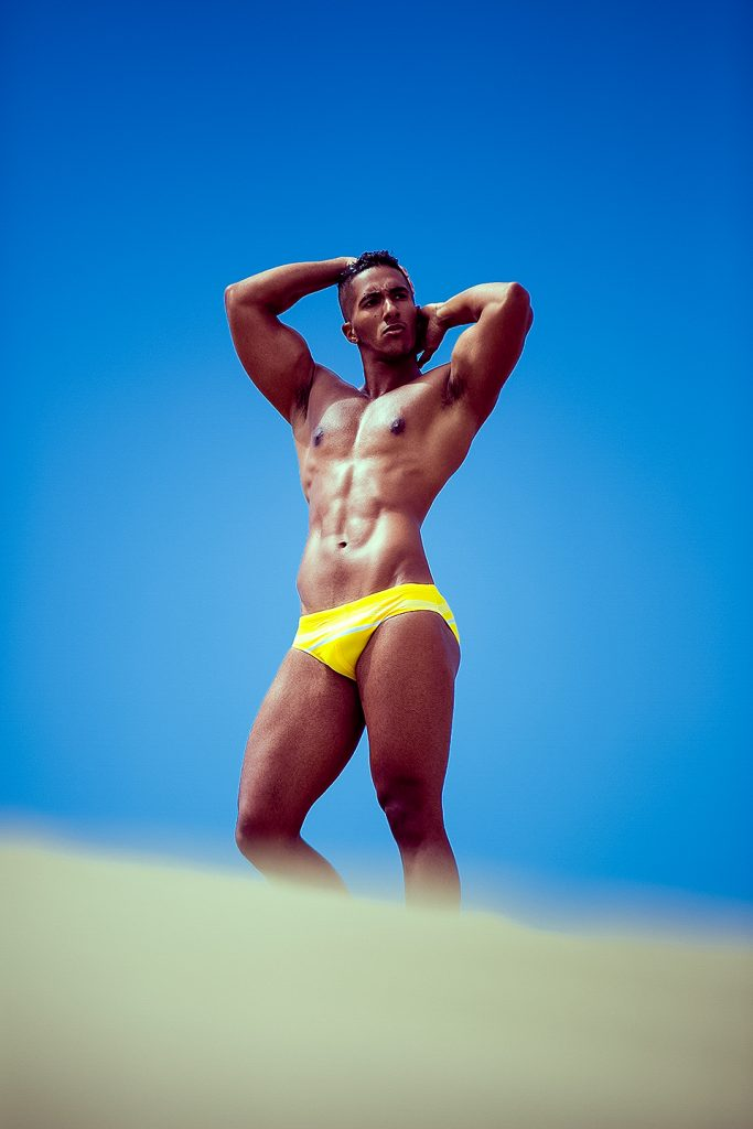 Karim Gasmi by Adrian C. Martin for Charlie by MZ
