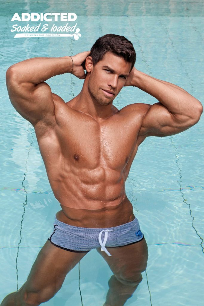 Addicted swimwear Soaked and Loaded campaign by Dylan Rosser
