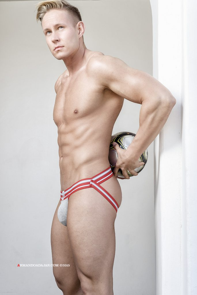 John Estes by Armando Adajar for Timoteo underwear