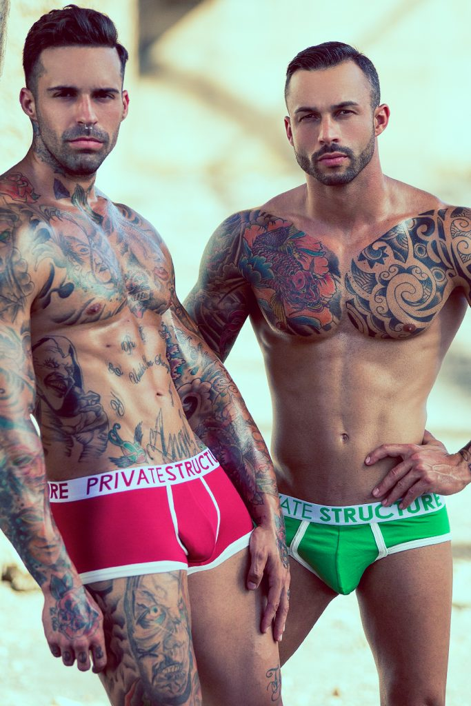 Christian Delgado and José Padrón by Adrian C. Martin for Private Structure