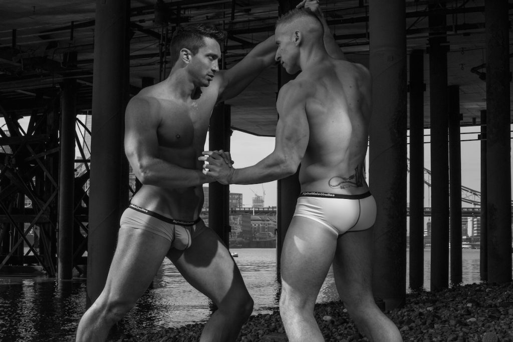 Stefan Kauffman and Andrew Morrill for AMU underwear