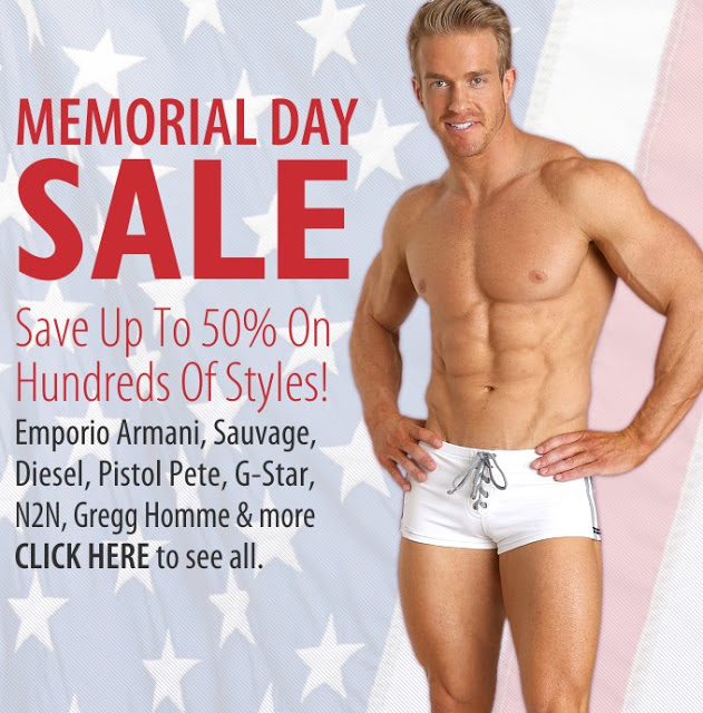 International Jock - Memorial Day sale