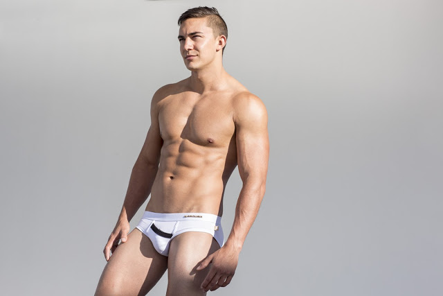 Stephen Morris by Russell Fleming for Marcuse Peep underwear