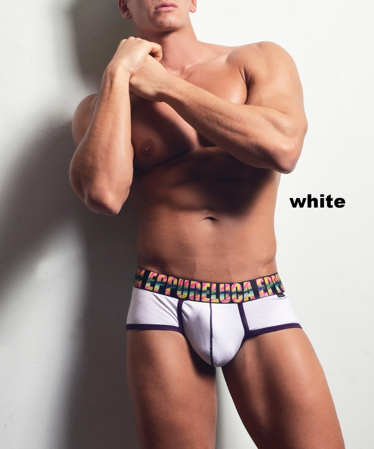 Eppureluca underwear - Pietro Micro Trunk white
