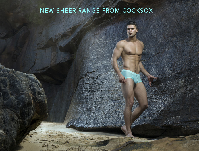 Sheer mens underwear by Cocksox