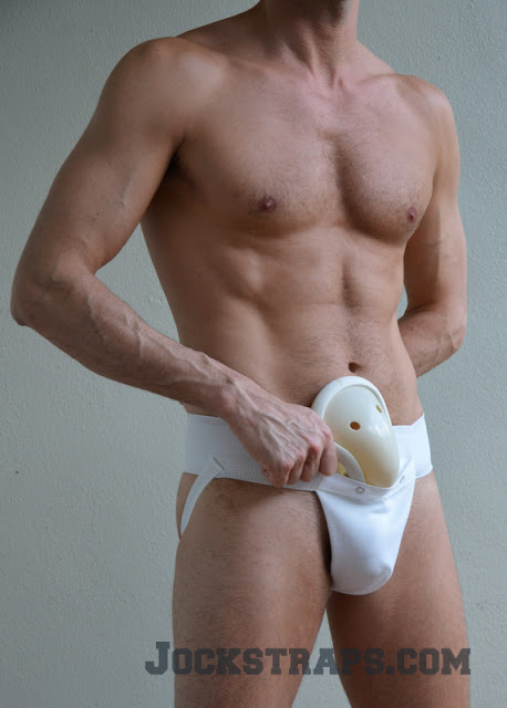 Champion athletic supporter with hard cup