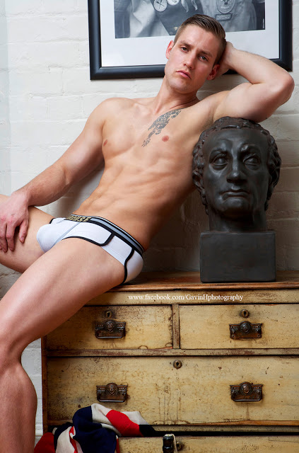 Shane by Gavin Harrison - underwear by Marcuse