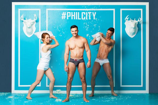 Philip Fusco posing for his own brand #PHILCITY