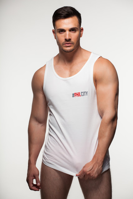 Philip Fusco posing for his own brand #PHILCITY