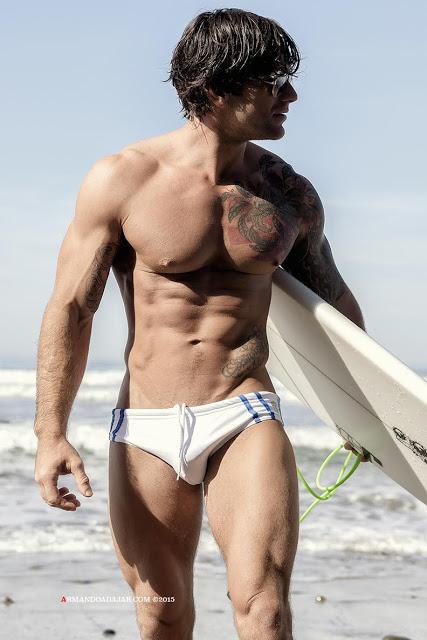 Bobby Creighton by Armando Adajar for Timoteo swimwear