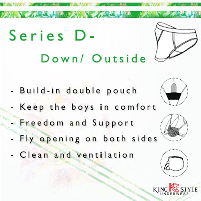 King Style underwear - Series D