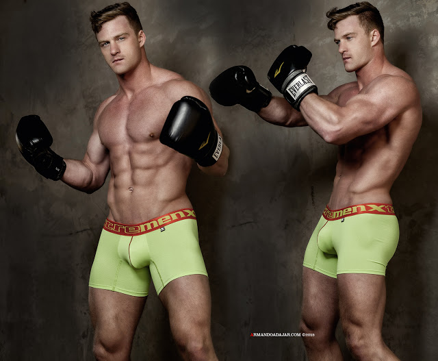 Alex Cairns by Armando Adajar for Xtremen Underwear