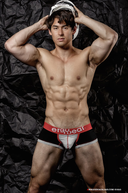 Chris Wells by Armando Adajar for Ergowear